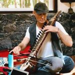 Johan Bysell musician at the Sama Yoga teacher Training